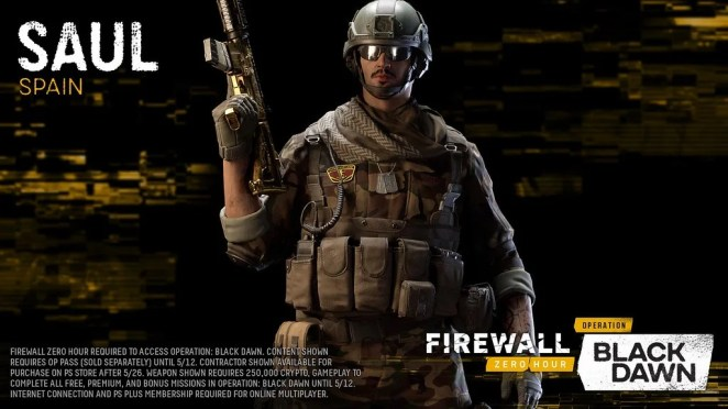 Firewall Zero Hour - Operation: Black Dawn