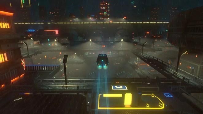 Cloudpunk on PS4