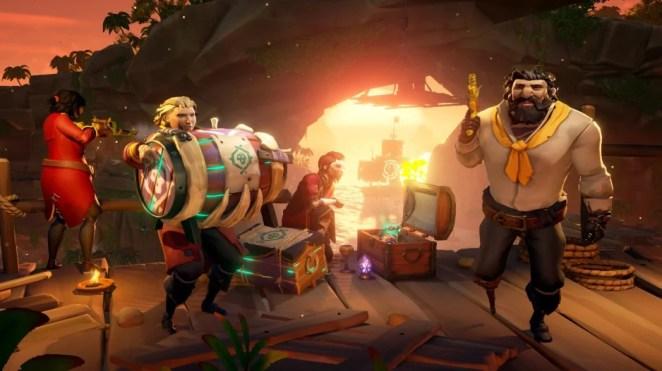 Sea of Thieves-Update: Heart of Fire bringt spannendes Tall Tale und neue Waffen!