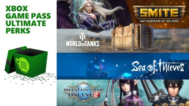 Xbox Game Pass Ultimate Perks Hero Image