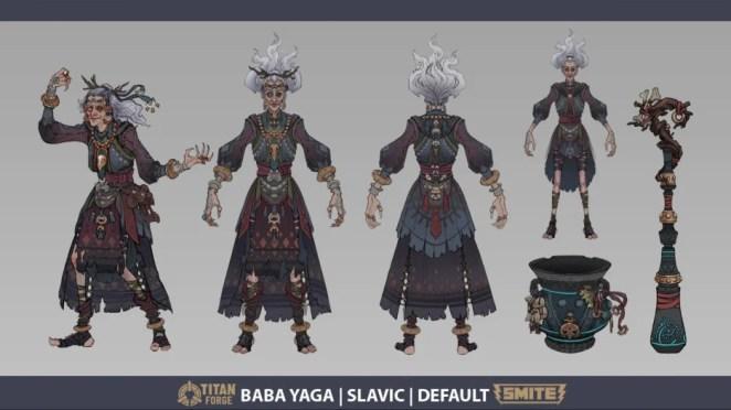 Smite Update: Baba Yaga