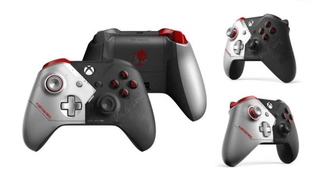 Xbox One X Bundle und weitere Hardware zu Cyberpunk 2077 jetzt erhältlich!: Controller