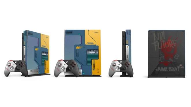 Xbox One X Bundle und weitere Hardware zu Cyberpunk 2077 jetzt erhältlich!: Bundle