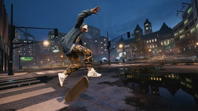 Tony Hawk's Pro Skater 1 and 2 on PS4