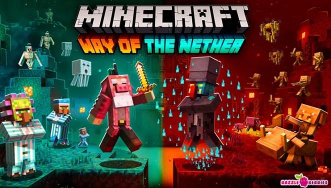Minecraft Nether-Update: Betrete die nächste Dimension und stelle Dich der Gefahr