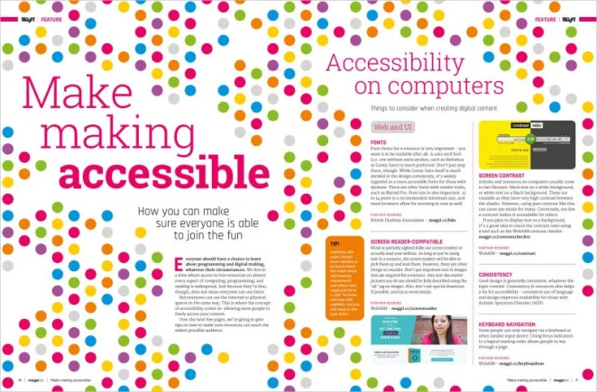 Make making accessible