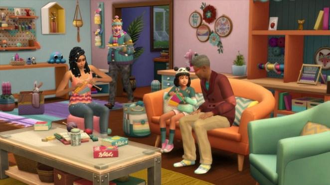 Next Week on Xbox: Neue Spiele vom 27. bis 31. Juli: The Sims 4: Nifty Knitting