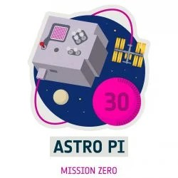 Logo of Mission Zero, part of the European Astro Pi Challenge