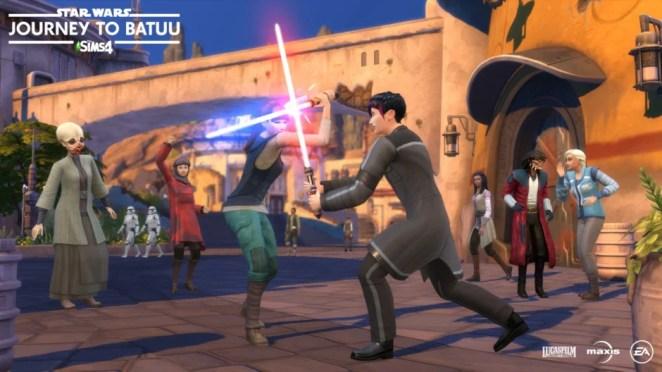 The Sims 4: Star Wars – Journey to Batuu