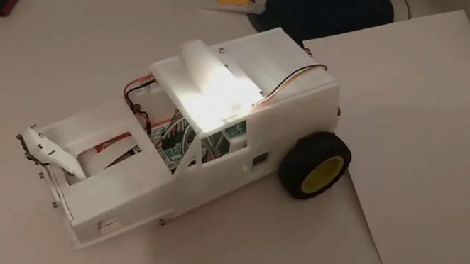 The makers of this Reliant Raspberry robot may have had Mr Bean's calamitous exploits in mind
