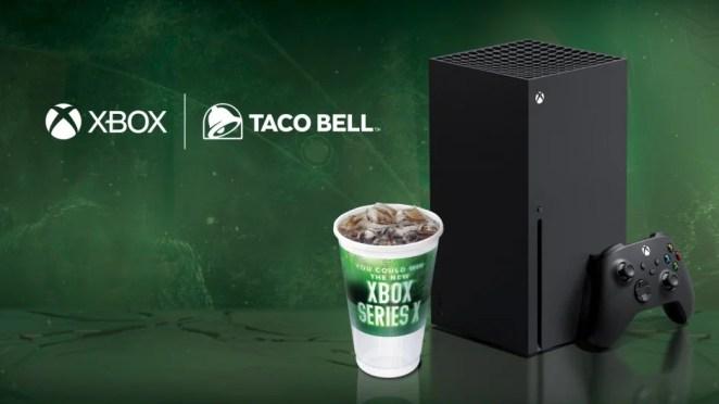 Taco Bell Xbox Series X Hero Image