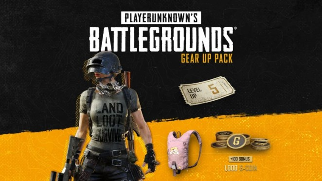 PUBG - Gear-up Pack