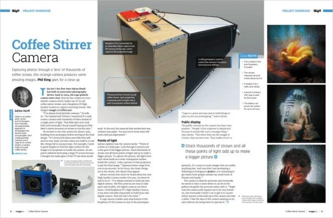Project Showcase: Coffee Stirrer Camera