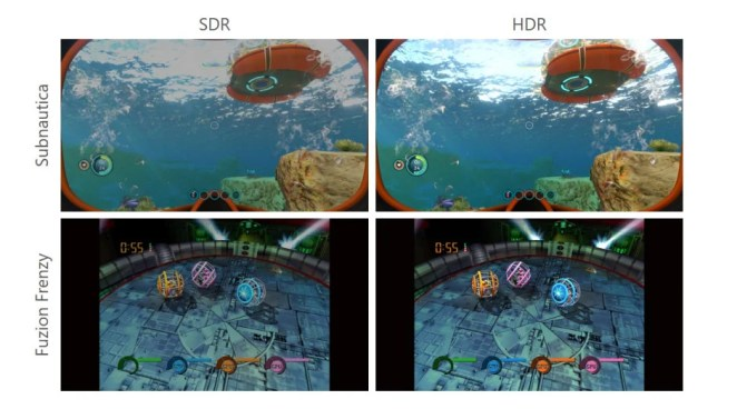 Xbox Series X HDR