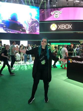 Maxi auf der gamescom