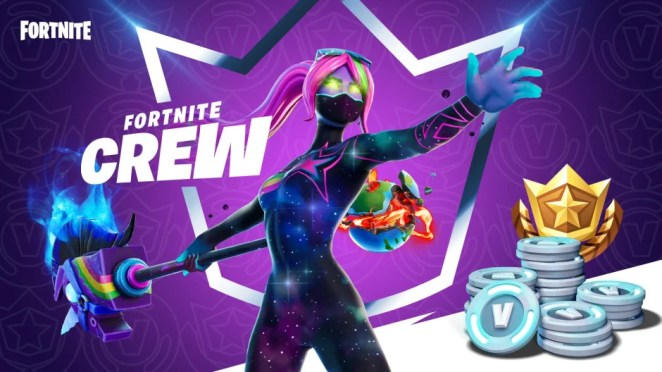 Fortnite Crew Announce