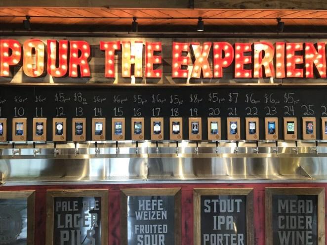 Each Raspberry Pi 4 controls twelve beer lines, so customers get plenty of choice