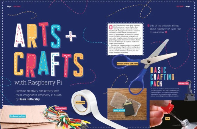Arts & Crafts with Raspberry Pi