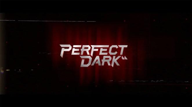 Perfect Dark Logo Key Art