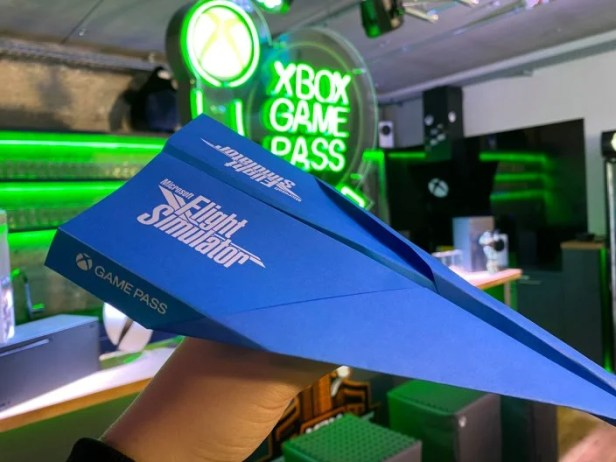 Der Microsoft Flight Simulator Papierflieger