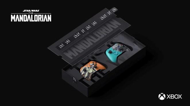 The Mandalorian Custom Controllers