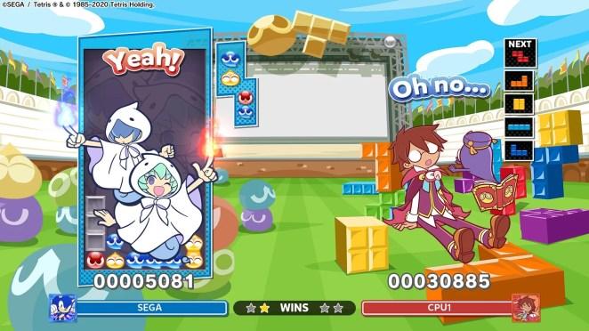Puyo Puyo Tetris 2 - Yu & Rei