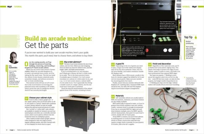 Build an arcade machine: Get the parts