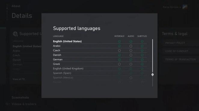 Entdecke Spiele auf Xbox in Deiner bevorzugten Sprache jetzt noch einfacher: Liste