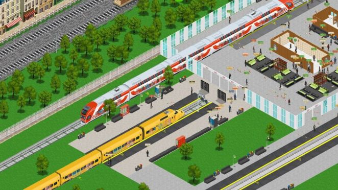 Train Station Simulator – April 2