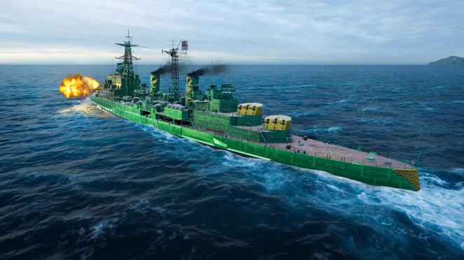 World of Warships: 3.1 Update