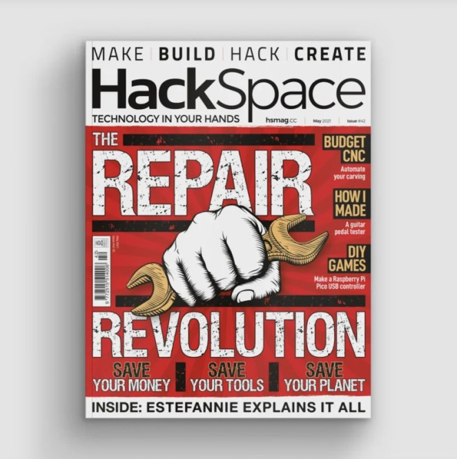 hackspace issue 42 cover