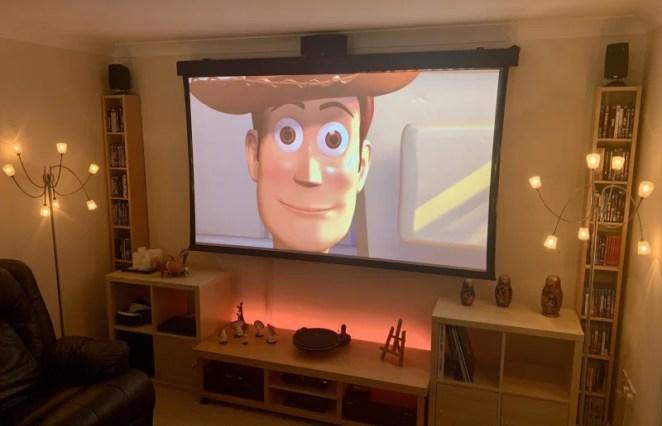 Build a home cinema