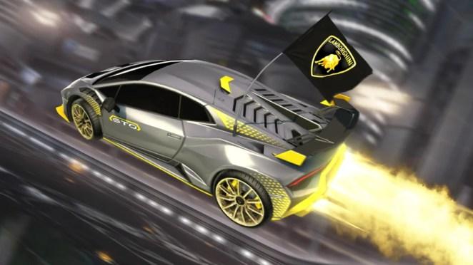 Lamborghini Huracán STO Speeds Into Rocket League