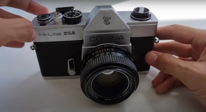 analogue to digital camera original model hero shot
