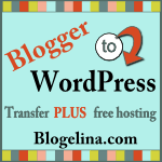 Blogelina Blogger to WordPress Transfer