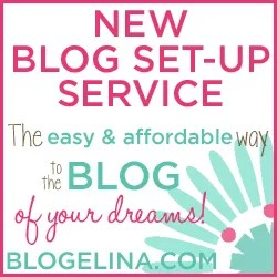 Blogelina\'s Blog Set-Up Service