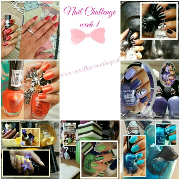 Week 1 van de 31 Day Nail Challenge