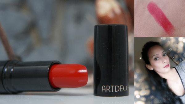 Artdeco Lipstick swatch