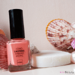 Hema Long Lasting Nailpolish Exotic Swatch Peach