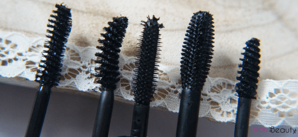 Top 5 mascara borstels close