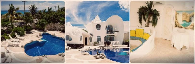 Casa caracol na Isla Mujeres