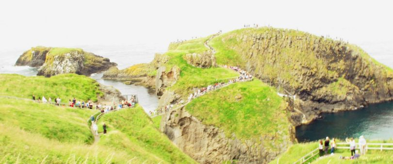 giant's causeway e Carrick-a-Rede Rope Bridge