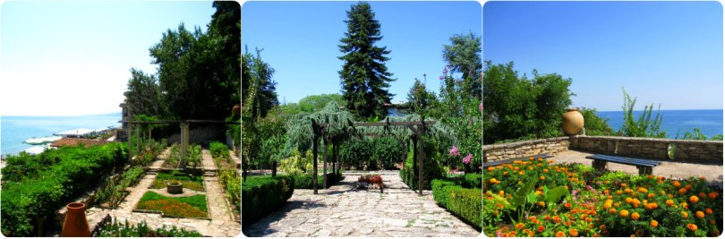 Balchik jardim botânico