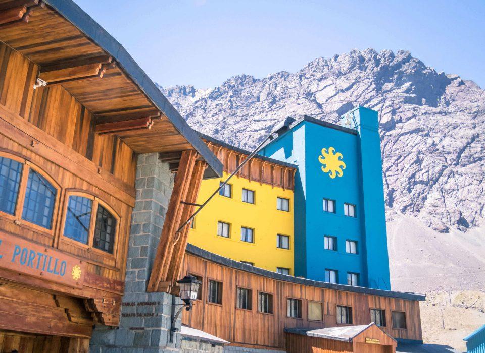 Ski Portillo no verão