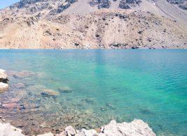 Ski Portillo no verão_laguna-del-inca