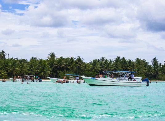 Ilha Saona_piscina natural