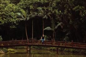 Templo Zu Lai-lago