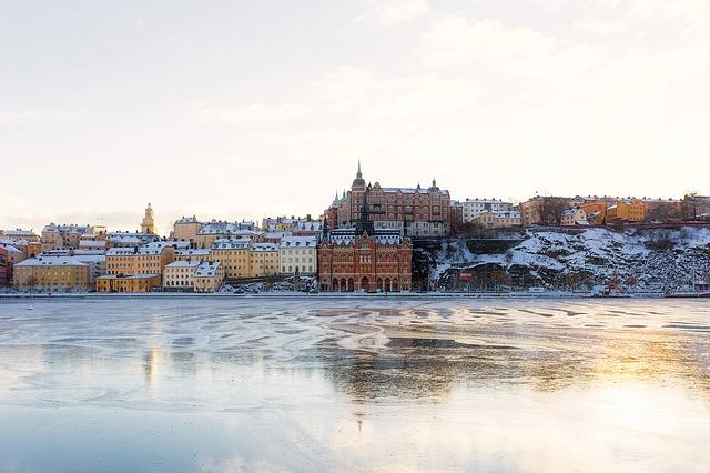 da Finlândia a Suécia de cruzeiro
