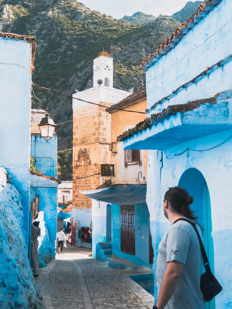 Chefchaouen_cidade azul no Marrocos