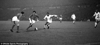 Best terrozing benfica defender in 1966 Quater Final of the European Cup